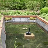 Vijver overloon voor aanleg en onderhoud van uw vijver for Natuurlijke vijver maken